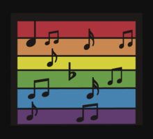 Music The Rainbow  by Kimberly Temple