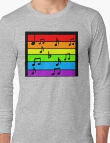 Music The Rainbow  Long Sleeve T-Shirt