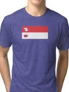 Flag of Guelph  Tri-blend T-Shirt