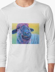 Baa Baa Blue Sheep Long Sleeve T-Shirt