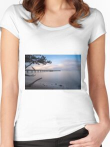 Cornwallis through the trees Women's Fitted Scoop T-Shirt