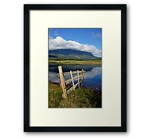 photoj Tas, 'Mt Roland Reflections' Framed Print