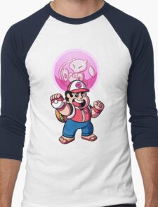 Steven and Mew Men's Baseball ¾ T-Shirt