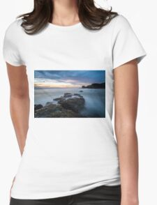 Sunset at Muriwai in the ocean T-Shirt