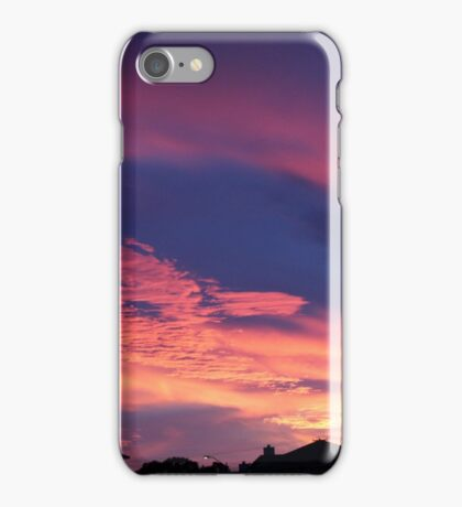 the southern lights iPhone Case/Skin