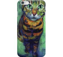 The Cat Look iPhone Case/Skin