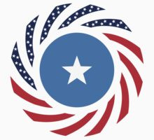 Somali American Multinational Patriot Flag Series by Carbon-Fibre Media