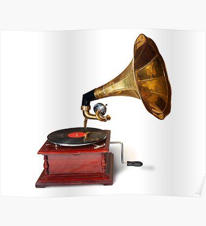 Gramophone Poster