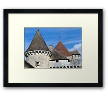 Four Roofs Framed Print