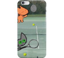 Tennis Cats iPhone Case/Skin