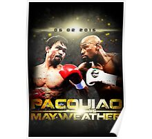 pacquiao vs mayweather V2.0 Poster