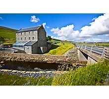 Weisdale Mill, Shetland Islands, Scotland Photographic Print
