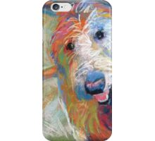 Blaze the goldendoodle dog iPhone Case/Skin