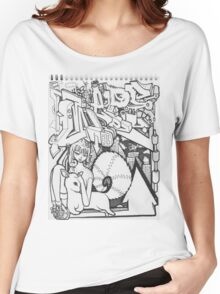 Blackbook Sketching Women's Relaxed Fit T-Shirt