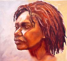 Portrait of Kuntamare by Roz McQuillan