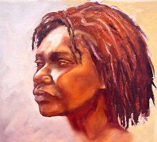 Portrait of Kuntamare by Roz McQuillan