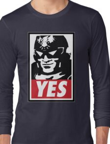 """YES!"" Long Sleeve T-Shirt"