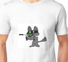 Karate Cat Unisex T-Shirt
