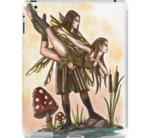 Faeries Take Flight Couples Dance iPad Case/Skin