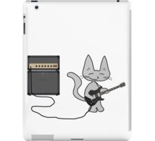 "Rock ""n"" Roll Kitty  iPad Case/Skin"