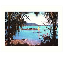 Looking across to Airlie Beach Art Print