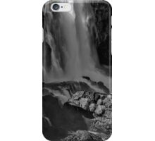 Iguazu Falls in Monochrome iPhone Case/Skin