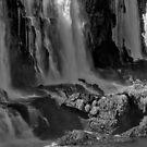 Iguazu Falls in Monochrome by photograham