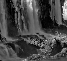 Iguazu Falls in Monochrome by photograham
