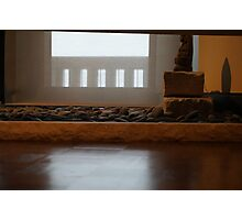 Zen Garden Piece Photographic Print