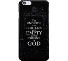 Throne of God iPhone Case/Skin