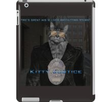 Kitty Justice iPad Case/Skin