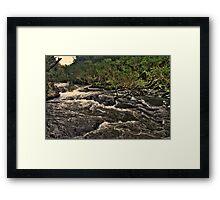 Williams River Framed Print