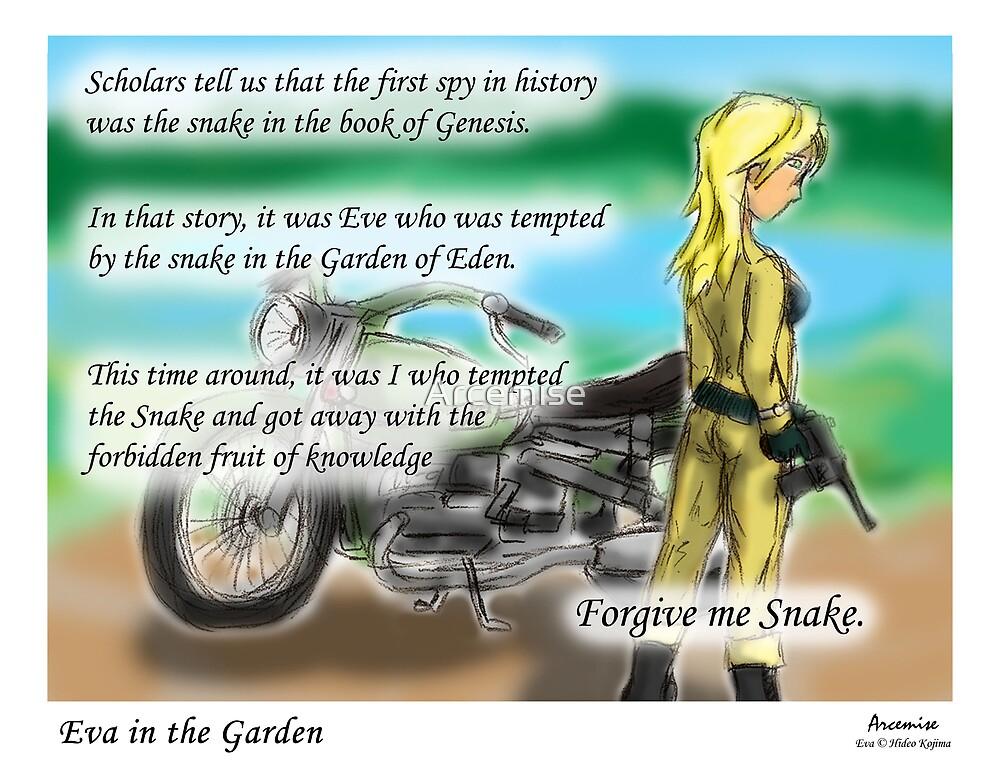 Eva in the Garden by Arcemise