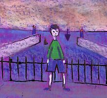 Boy and Harbour by sword