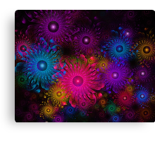 Flowers That Sparkle Canvas Print