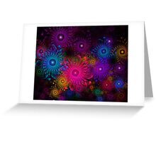 Flowers That Sparkle Greeting Card