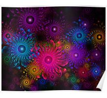 Flowers That Sparkle Poster