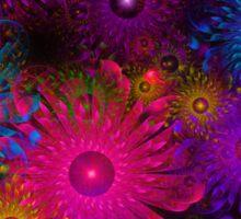 Flowers That Sparkle Sticker
