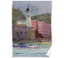 Vernassa, Cinque Terre Coast, Italy Poster