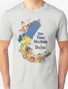 Blue Time Machine T-Shirt