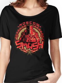 MOSCOW: SMASH Women's Relaxed Fit T-Shirt