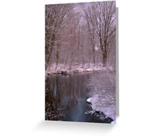 Fresh Snow Greeting Card