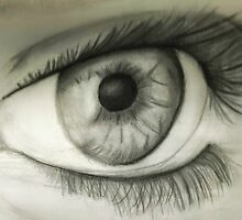 Eye Study by CaptainStanley