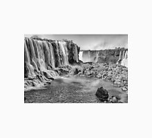 Iguazu Falls - a wider view - in monochrome Unisex T-Shirt