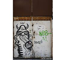 The city of the monsters - Street art Photographic Print