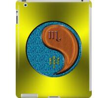 Scorpio & Monkey Yang Wood iPad Case/Skin