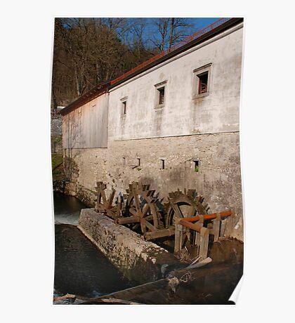 Slovenian Mill Poster
