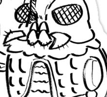 Daikaiju Rook Sticker
