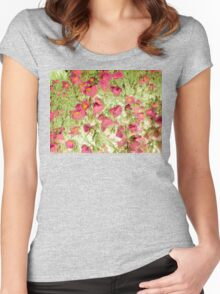 soft blossoms Women's Fitted Scoop T-Shirt