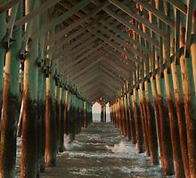 Under the Pier by mklue